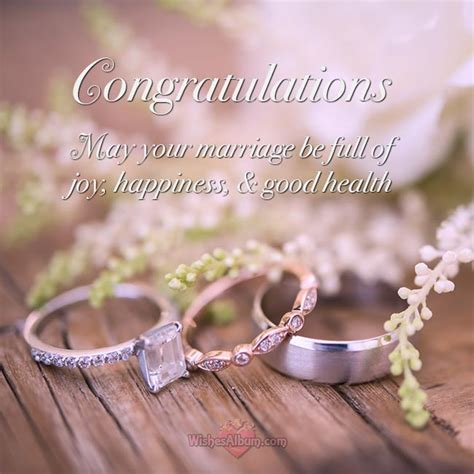 Wedding Wishes for Friends and Congratulations Messages