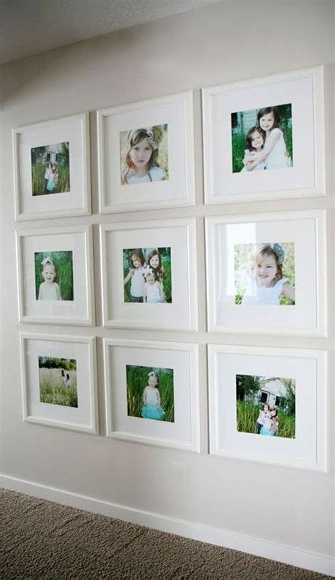 wall frames ideas 25 best ideas about white picture frames on