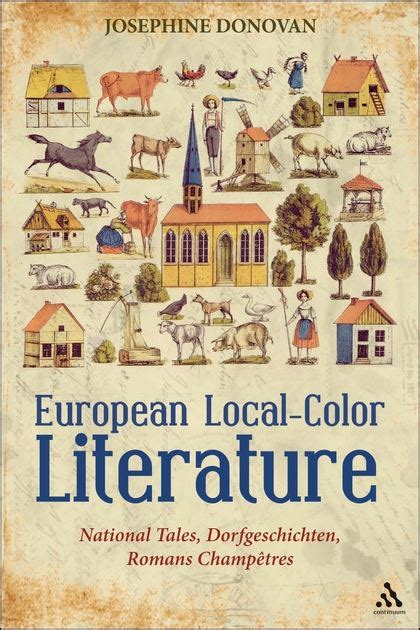 local color european local color literature national tales