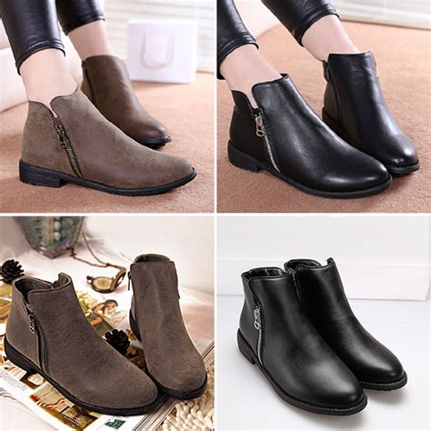 Boot Heel Kulit low heel ankle boots for coltford boots