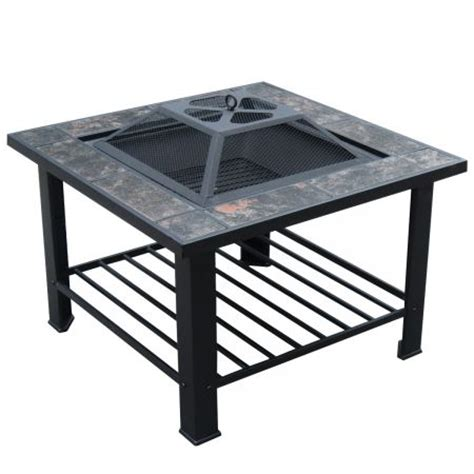 Patio Grill Table 4 In 1 Outdoor Pit Bbq Table Grill Patio Heater Charcoal
