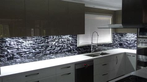 Kitchen Designers Gold Coast gold coast glass splashback in glass design