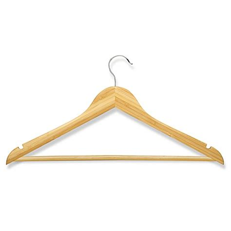 bed bath beyond hangers honey can do 174 4 pack wooden suit hangers bed bath beyond