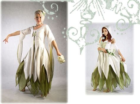 Pagan Style Wedding Dresses by Customizable Other Worldly Wedding Gowns From Zizzyfay