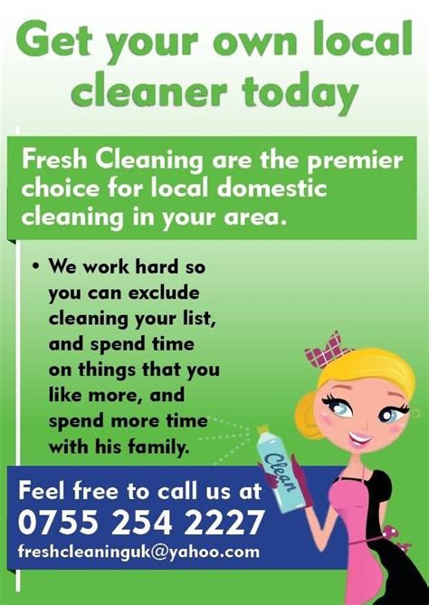 How To Advertise A Cleaning Business Cleaning Inspector