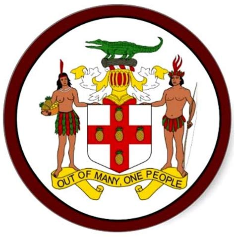 Jamaican Records On This Day In Jamaican History The Jamaican Coat Of Arm Fe We Likkle Soapbox