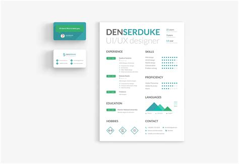 business card templates ai inspirational indesign business