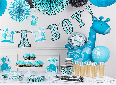 Blue Safari Baby Shower by Blue Safari Boy S Baby Shower Ideas City