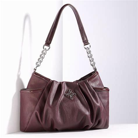 wine colored purse wine colored vera wang handbag bags