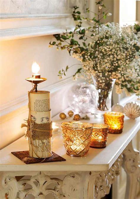 diy  velas  navidad decoracionin