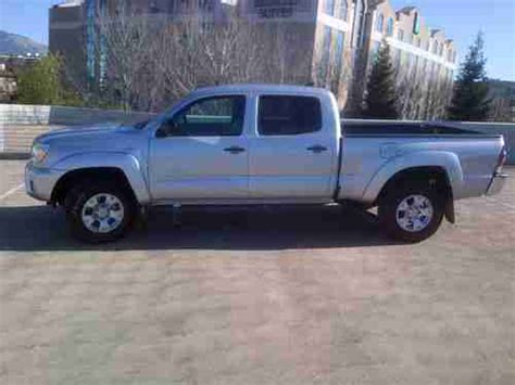 toyota tacoma long bed for sale sell used 2013 toyota tacoma prerunner double cab 4x2 long