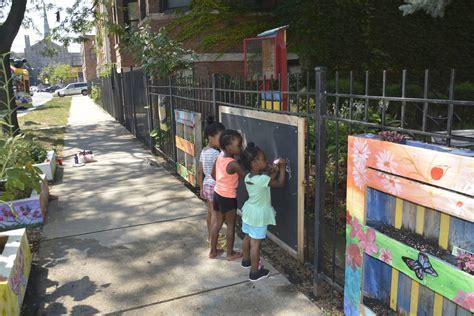 community gardens  block associations  stem