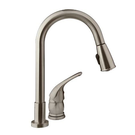 dura faucet pull rv kitchen faucet with side lever