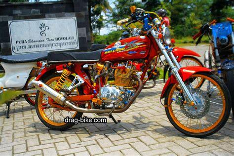 Foto Variasi Motor by 51 Foto Gambar Modifikasi Motor Cb 100 Terbaik Kontes Drag
