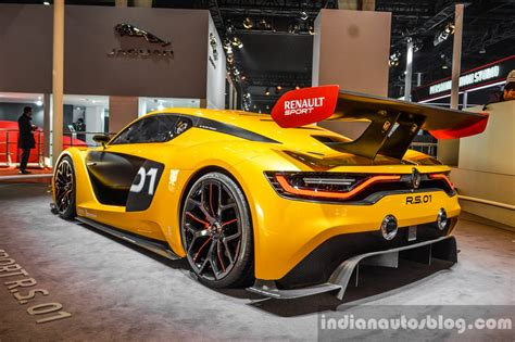 renault rs 01 renault rs 01 rear quarter at auto expo 2016