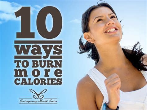 10 Ways To Burn More Calories During The Day 10 ways to burn more calories topic infos