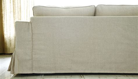 modern sofa covers ikea manstad loose fit linen slipcovers modern sofas