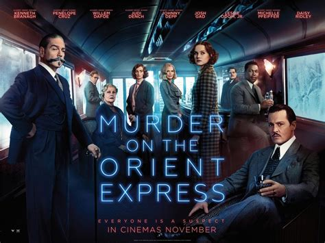 current movies murder on the orient express by kenneth branagh murder on the orient express 2017 poster 18 trailer addict