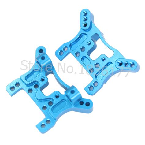 Wltoys Aluminium Shock Tower wltoys a959 aluminum front rear shock tower spare parts a949 a969 a979 k929 upgrade for 1 18th