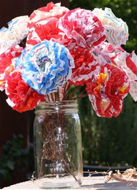 How To Make A Paper Mache Flower - craft paper mache flowers
