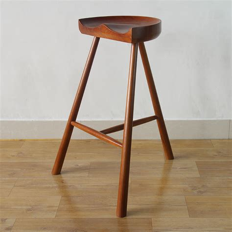oak wood bar stools white oak wood saddle bar ᐂ stool stool us719