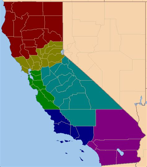 california map divided by counties 20 maps that never happened vox