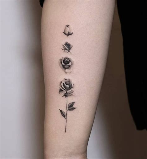 blooming rose tattoo feed your ink addiction with 50 of the most beautiful