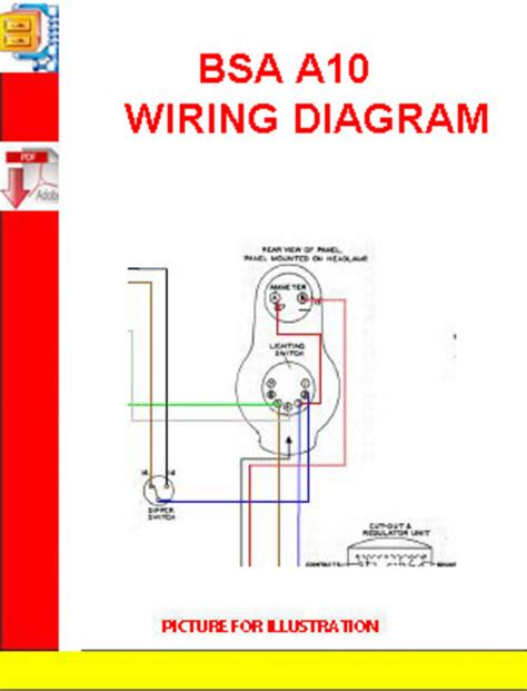 bsa motorcycle wiring diagram wiring diagram 2018
