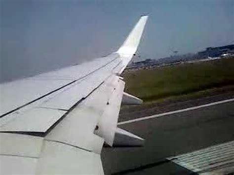 decollo aereo dalla cabina decollo boeing 737 800 dall interno
