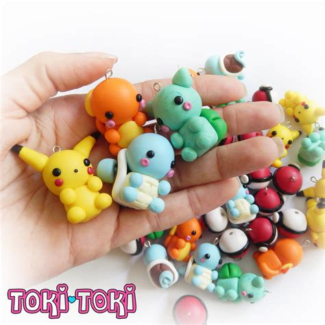 Clay Handmade - charms polymer clay handmade by madebytokitoki on