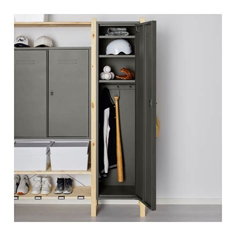 ikea ivar cabinets ivar 2 sections shelves cabinets pine grey 134x30x179 cm