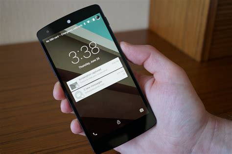android l android l features interacting with the new lock screen droid