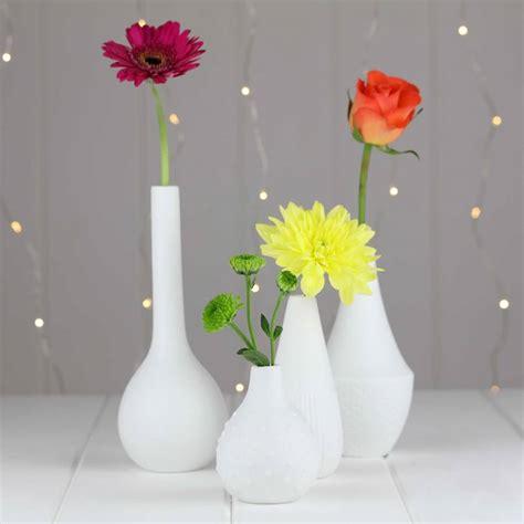 Engraved Flower Vases porcelain engraved flower vases by nest notonthehighstreet