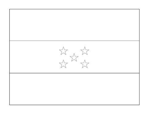 la bandera de honduras para colorear banderas para imprimir gratis paraimprimirgratis