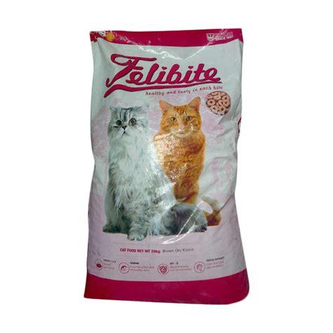 jual felibite makanan kucing 20 kg harga