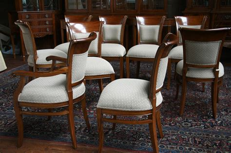 dining room sets with upholstered chairs mahogany dining room chairs with upholstered back ebay