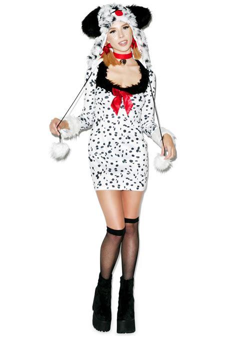 dalmatian costume cruella s bish dalmatian costume dolls kill