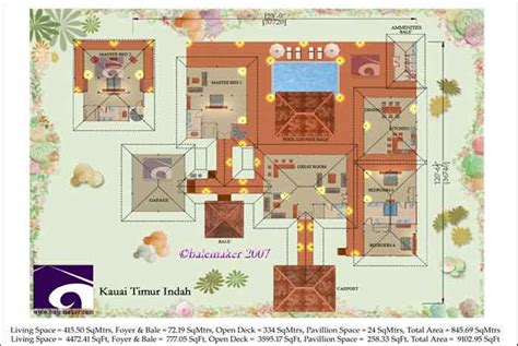 balinese house plans bali and house plans 171 floor plans