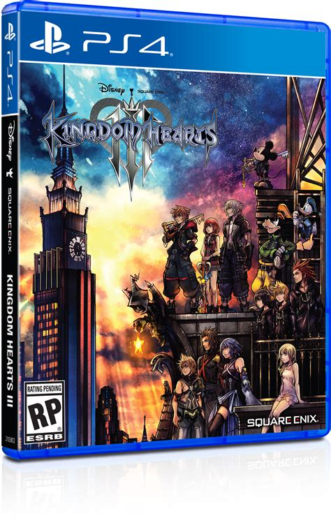 The Kingdom view the kingdom hearts iii box