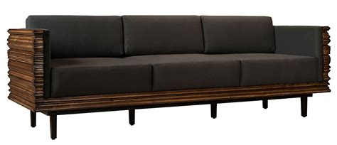 solid wood frame leather sofas solid wood wavy frame modern style sofa