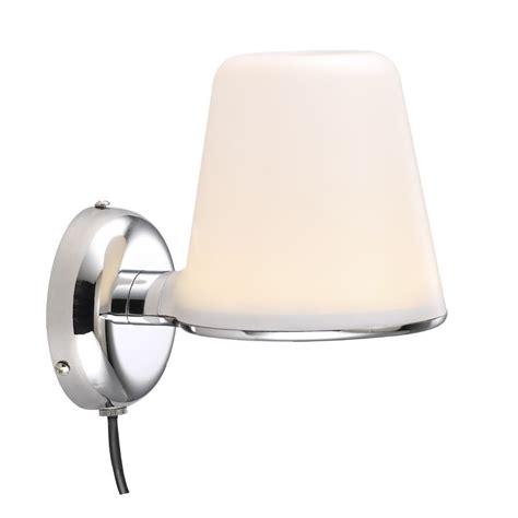 ip bathroom lights nordlux ip s8 bathroom led wall light chrome