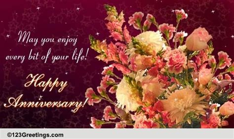 Anniversary Message For World Nest Jiju by A Special Anniversary Card Free To A Ecards