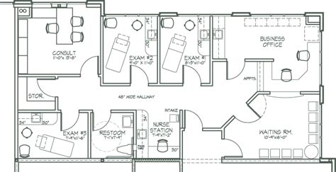 medical office floor plans makena medical center
