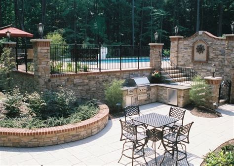 backyards inc backyard landscaping stow oh photo gallery