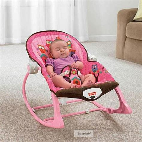 pink baby bouncer swing baby rocker bouncer chair musical swing sleeper cradle