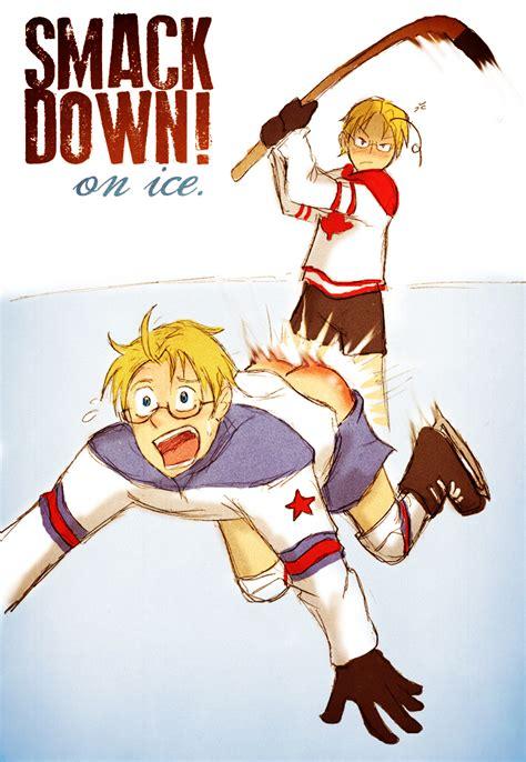 Kaos Anime Canada Knows Hockey on the by arkham insanity hetalia