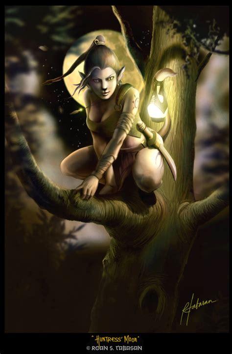 Huntress Moon huntress moon by valiance on deviantart