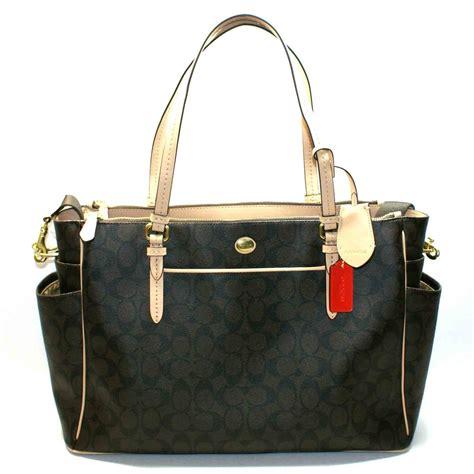 coach peyton signature multi function tote bag bag