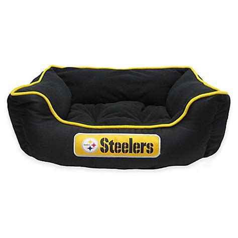 bed bath and beyond pittsburgh nfl pittsburgh steelers pet bed bed bath beyond