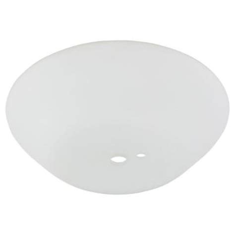 ceiling fan replacement glass replacement glass for wentworth 52 in brushed nickel